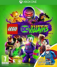 Lego DC Supervillains + Toy-Microsoft XBox One