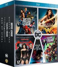 DC Comics Movie Box (5 Films)-Blu-Ray