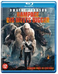 Rampage: Big Meets Bigger-Blu-Ray