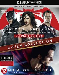 Batman V Superman - Dawn Of Justice + Man Of Steel (4K Ultra HD En Blu-Ray)-4K Blu-Ray