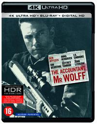 The Accountant (4K Ultra HD En Blu-Ray)-4K Blu-Ray