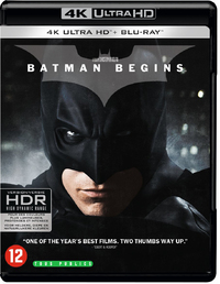 Batman Begins (4K Ultra HD En Blu-Ray)-4K Blu-Ray