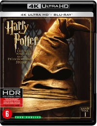 Harry Potter 1 - De Steen Der Wijzen-4K Blu-Ray