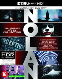 Christopher Nolan Boxset (7 Films)-4K Blu-Ray