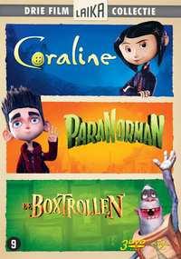 Boxtrollen / Coraline / Paranorman-DVD