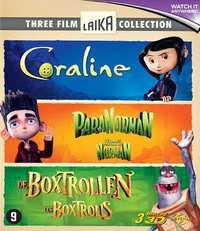 Boxtrollen / Coraline / Paranorman-Blu-Ray