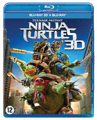 Teenage Mutant Ninja Turtles (3D En 2D Blu-Ray)-3D Blu-Ray