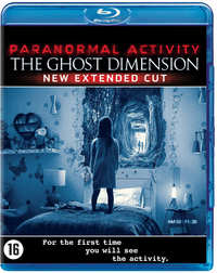 Paranormal Activity 5 - The Ghost Dimension-Blu-Ray