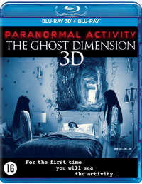 Paranormal Activity 5 - The Ghost Dimension (3D En 2D Blu-Ray)-3D Blu-Ray