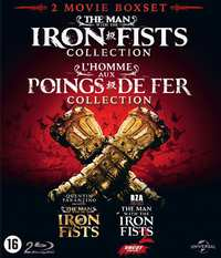 Man With The Iron Fist 1 & 2-Blu-Ray