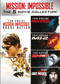 Mission Impossible - The 5 Movie Collection-DVD