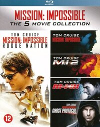 Mission Impossible - The 5 Movie Collection-Blu-Ray