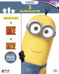 Verschrikkelijke Ikke 1 & 2 + Minions-Blu-Ray