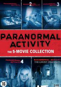 Paranormal Activity 1-5-DVD