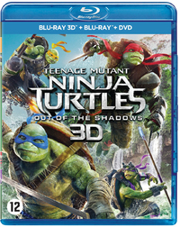 Teenage Mutant Ninja Turtles 2 - Out Of The Shadows (3D En 2D Blu-Ray + DVD)-3D Blu-Ray