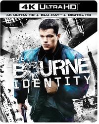 The Bourne Identity (4K Ultra HD En Blu-Ray)-4K Blu-Ray