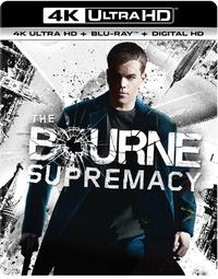 The Bourne Supremacy-4K Blu-Ray