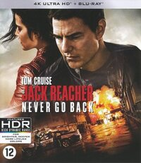Jack Reacher - Never Go Back (4K Ultra HD En Blu-Ray)-4K Blu-Ray
