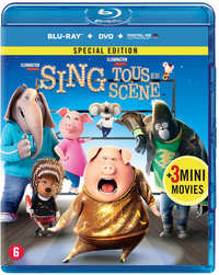 Sing (Blu-Ray En DVD)-Blu-Ray