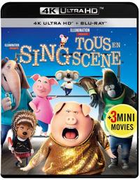 Sing (4K Ultra HD En Blu-Ray)-4K Blu-Ray