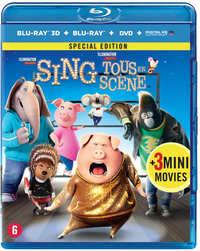 Sing (3D En 2D Blu-Ray + DVD )-3D Blu-Ray