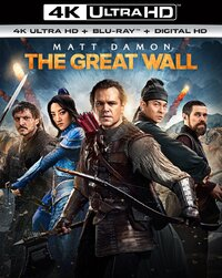 The Great Wall-4K Blu-Ray