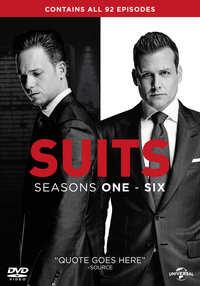 Suits - Seizoen 1 - 6-DVD
