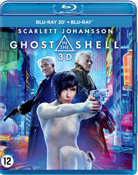 Ghost In The Shell (3D En 2D Blu-Ray + DVD)-3D Blu-Ray