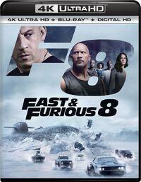 Fast & Furious 8 (4K Ultra HD En Blu-Ray)-4K Blu-Ray