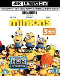Minions (4K Ultra HD En Blu-Ray)-4K Blu-Ray