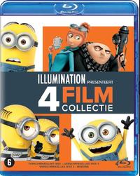 Verschrikkelijke Ikke 1-3 & Minions-Blu-Ray