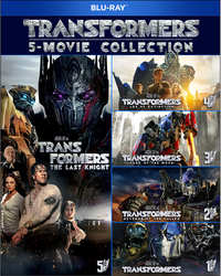 Transformers 1-5-Blu-Ray