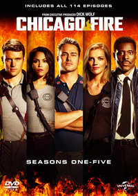 Chicago Fire - Seizoen 1-5-DVD