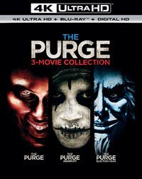 The Purge 1-3 (4K Ultra HD En Blu-Ray)-4K Blu-Ray