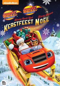 Blaze En De Monsterwielen: Blaze Redt Het Kerstfeest-DVD