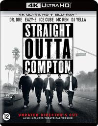Straight Outta Compton (4K Ultra HD En Blu-Ray)-4K Blu-Ray