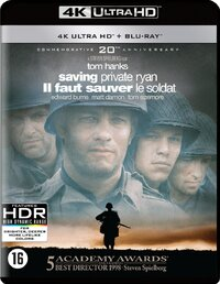 Saving Private Ryan (4K Ultra HD En Blu-Ray)-4K Blu-Ray