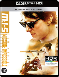 Mission Impossible 5 - Rogue Nation (4K Ultra HD En Blu-Ray)-4K Blu-Ray