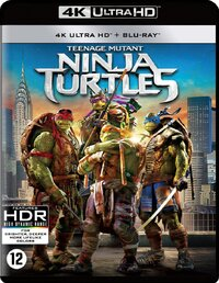 Teenage Mutant Ninja Turtles-4K Blu-Ray