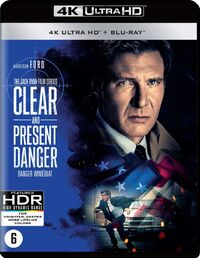 Clear And Present Danger(4K Ultra HD En Blu-Ray)-4K Blu-Ray