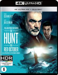 The Hunt For Red October(4K Ultra HD En Blu-Ray)-4K Blu-Ray