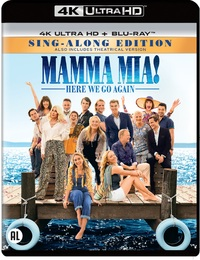 Mamma Mia! Here We Go Again(4K Ultra HD En Blu-Ray)-4K Blu-Ray