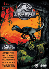Jurassic Park - 1 T/M 5 Collection-DVD