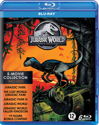 Jurassic Park - 1 T/M 5 Collection-Blu-Ray