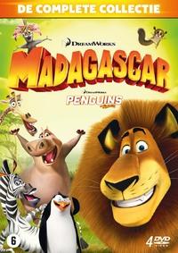 Madagascar 1-3 + Penguins-DVD