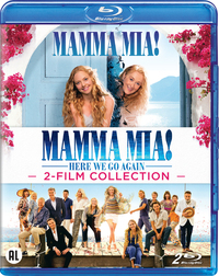 Mamma Mia 1+2-Blu-Ray