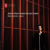 Works For Solo Piano-Reinis Zarins-CD