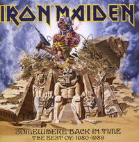 Somewhere Back In Time-Iron Maiden-CD