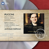 Puccini: Messa Di Gloria-Antonio Pappano-CD