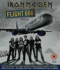 Iron Maiden - Flight 666-Blu-Ray